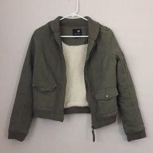 Full Tilt Green Army Jacket
